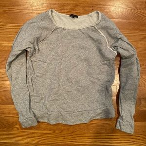 Beyond yoga gray sweatshirt super soft